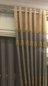 窗帘有纺带